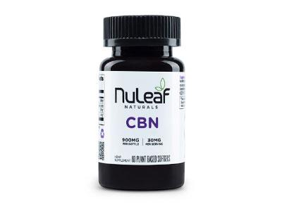 NuLeaf Naturals Full Spectrum CBN Capsules