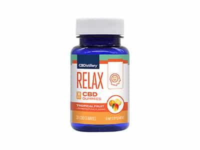 CBDistillery CBD Gummies - Relax